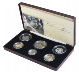 2006 Piedfort Coin Collection 6 coin Collection for sale